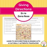 Spanish Vocabulary:  Giving Directions in La Zona Rosa