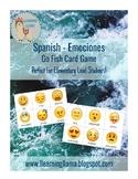 Spanish Go Fish - A Pescar - Emotions / Emociones