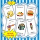 Spanish Go Fish Game Breakfast & Lunch Foods--La Comida