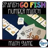 Spanish Go Fish Number Matching Game