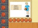 Spanish 2nd grade  Chapter 1  Math Performance task