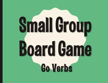 Spanish Go Verb Board Game