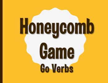 Spanish Go Verb Honeycomb Partner Game
