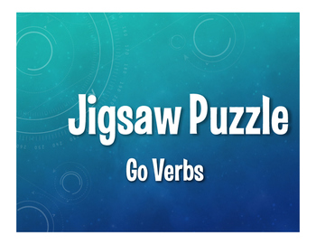 Spanish Go Verb Jigsaw Puzzle