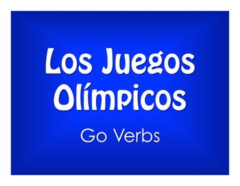Spanish Go Verb Olympics