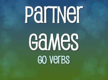 Spanish Go Verb Partner Games
