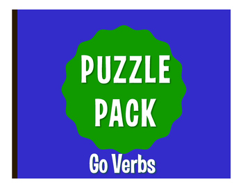 Spanish Go Verb Puzzle Pack