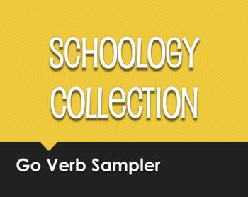 Spanish Go Verb Schoology Collection Sampler