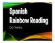 Spanish Go Verb Stations