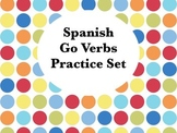 Spanish Go Verbs Worksheets Practice Set