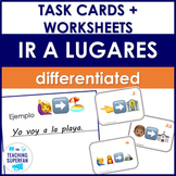 Spanish Going Places (Ir a lugares) Emoji Puzzles Bundle