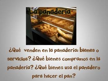 Spanish: Goods and Services (Bienes y servicios)