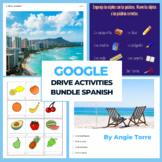 Spanish Google Drive Activities Bundle