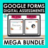 Spanish Google Forms Assessments MEGA BUNDLE