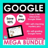 Spanish Google Activities MEGA BUNDLE | Google Slides Goog