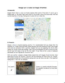 Spanish Google Streetview Project