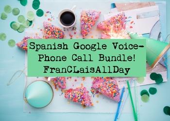 Spanish Google Voice Bundle