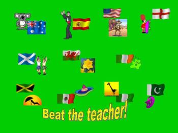 Spanish Teaching Resources. Countries Powerpoint Presentation