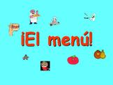 Spanish Teaching Resources: Grade 6 - Food at School slide