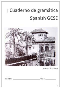 Spanish grammar booklet by diego corcuera | teachers pay teachers.