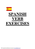 Spanish Grammar Booklet with Answers