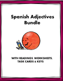 Spanish Adjectives Mini Bundle: Adjectivos