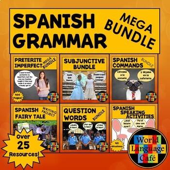 Spanish Grammar Lesson Plans (Subjunctive, Commands, Quest