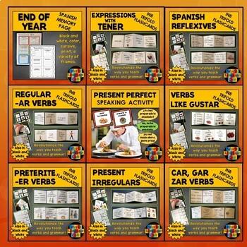 Spanish Grammar Lesson Plans (Subjunctive, Commands, Question Words, Preterite)