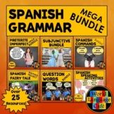 Spanish Grammar Lesson Plans (Subjunctive, Commands, Question Words, Preterite)