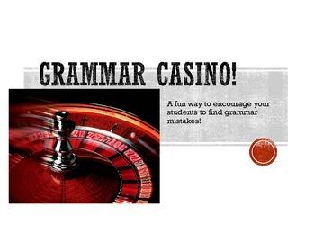 Spanish Grammar Casino-Descriptions
