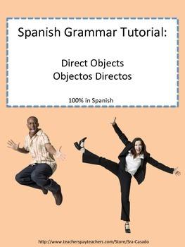 Spanish Direct Object Pronouns