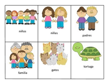 Spanish Grammar Game (Present Progressive, Pronouns, and Articles)