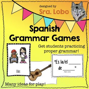 Spanish Grammar Games