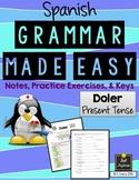 Spanish Grammar Made Easy - Doler - present tense