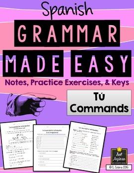 Spanish Grammar Made Easy - Informal Commands - Los Mandatos Informales