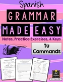 Spanish Grammar Made Easy - Informal Commands - Los Mandat