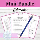 Spanish Adverbs Activity Mini Bundle