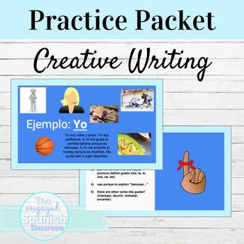 Spanish Gustar Creative Writing Activity