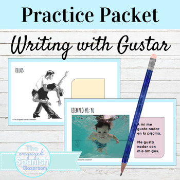 Spanish Guster with Infinitives Practice Activities