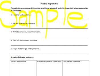 Spanish Grammar Practice (Preterite, Imperfect, Subjunctiv