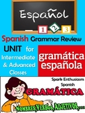 Spanish Grammar Review Packet for Intermediate and Advanced Classes