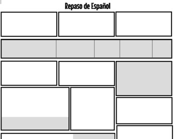 Spanish Grammar Review Years 1-4