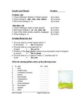 Spanish Bundle Grammar Worksheets - Prepositions, Personal a (5 sheets!)
