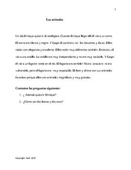 Spanish Grammar through Reading