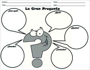 Spanish Basic Graphic Organizers for Reading Comprehension