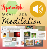 Spanish Gratitude Guided Meditation Imperative Verbs TPR #