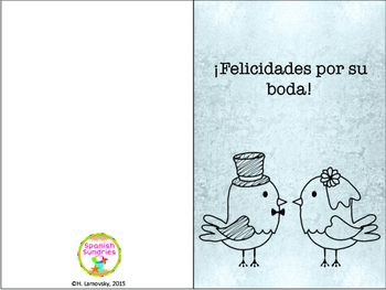 Spanish Greeting Cards