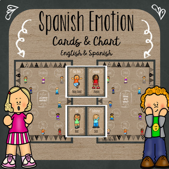 My Emotions {Spanish and English}