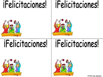 Spanish Greeting Cards / Spanish and English Bilingual Greeting Cards