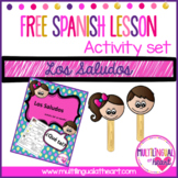 Spanish Greetings Activity Set